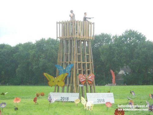 Luttenbergsfeest Straat- en tuinversiering