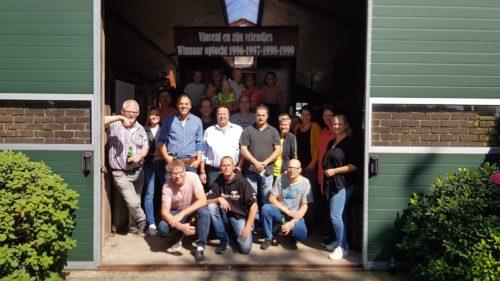 Luttenbergsfeest Feestcommissie bezoekt optochtdeelnemers