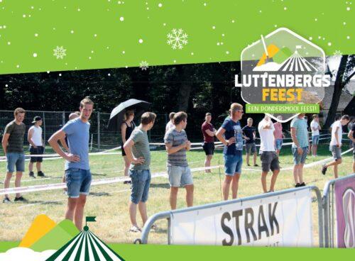 Luttenbergsfeest Fijne feestdagen!